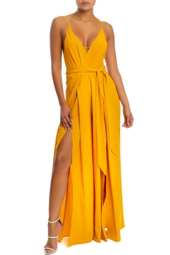 luxxel Strappy Jumpsuit - Product List Image