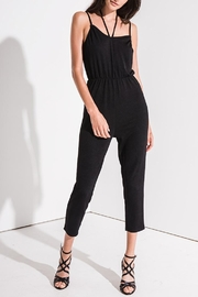Black Swan Strappy Jumpsuit - Product Mini Image