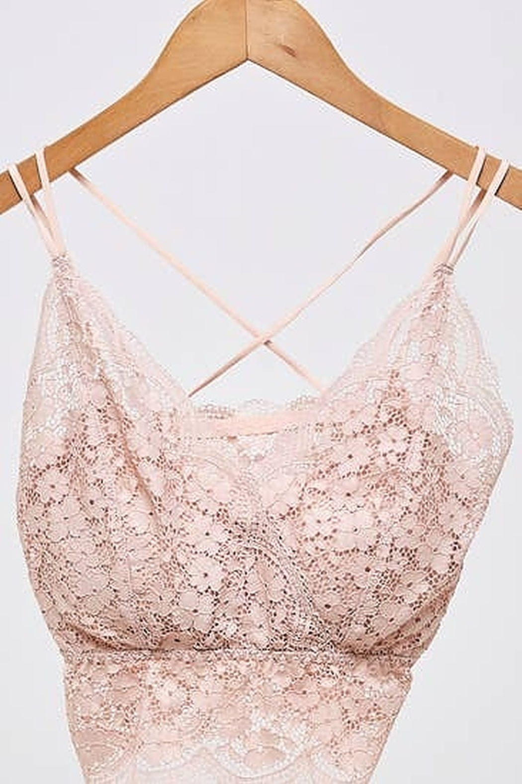 Ellison Strappy Lace Bralettes - Front Cropped Image