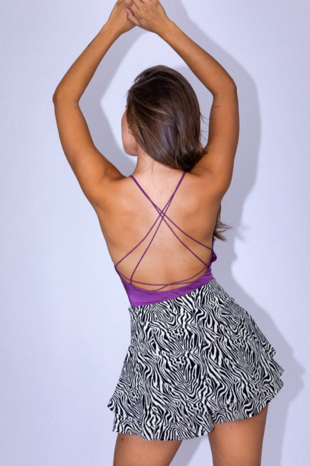 Le Lis Strappy Open Back Bodysuits - Side Cropped Image