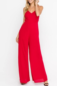 Lush Clothing  Strappy Open-Back Cocktail-Jumpsuit - Product List Image