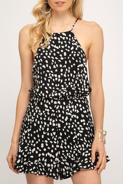 b0a3e5ddbd59 ... She + Sky Strappy Print Romper - Product List Placeholder Image