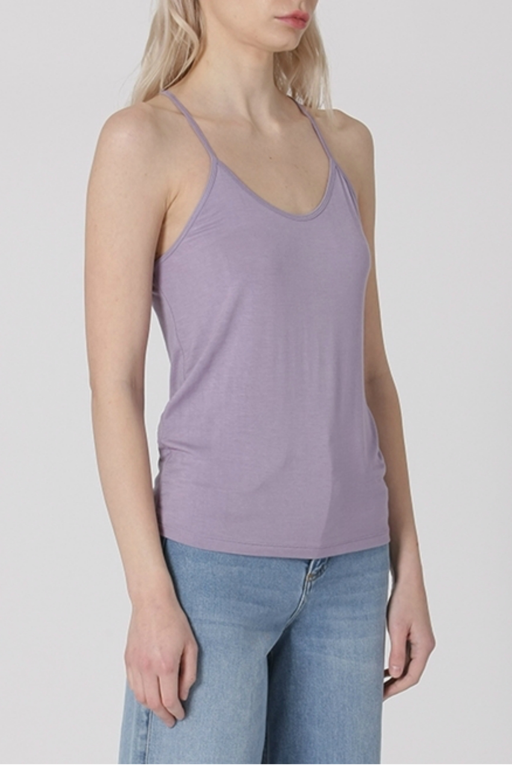 HYFVE Strappy racerback tank top - Front Cropped Image