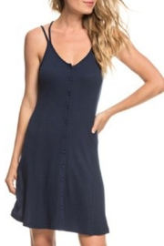 Roxy Strappy Ribbed Button-Up - Product Mini Image