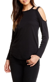 Chaser Strappy Shoulder Tee - Product Mini Image