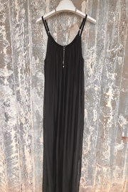 Dance in Paris Strappy Silk Dress - Front cropped