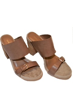 Very Volatile Strappy Tan Sandals - Alternate List Image