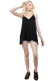 Rock Etiquette Strappy Top - Front full body