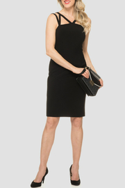 Joseph Ribkoff Strappy Top Dress - Product Mini Image