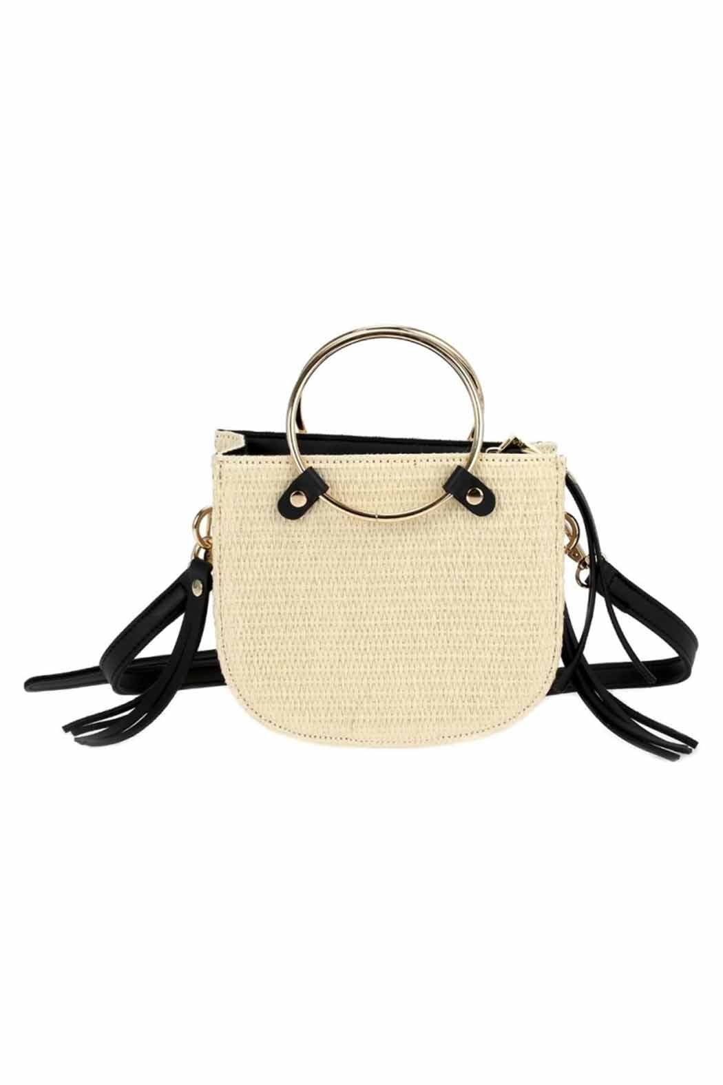 joseph d'arezzo Straw Bag - Front Cropped Image