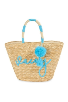 Shoptiques Product: Straw Beach Bag