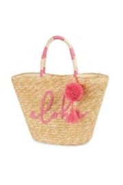 Mud Pie Straw Beach Tote - Product Mini Image