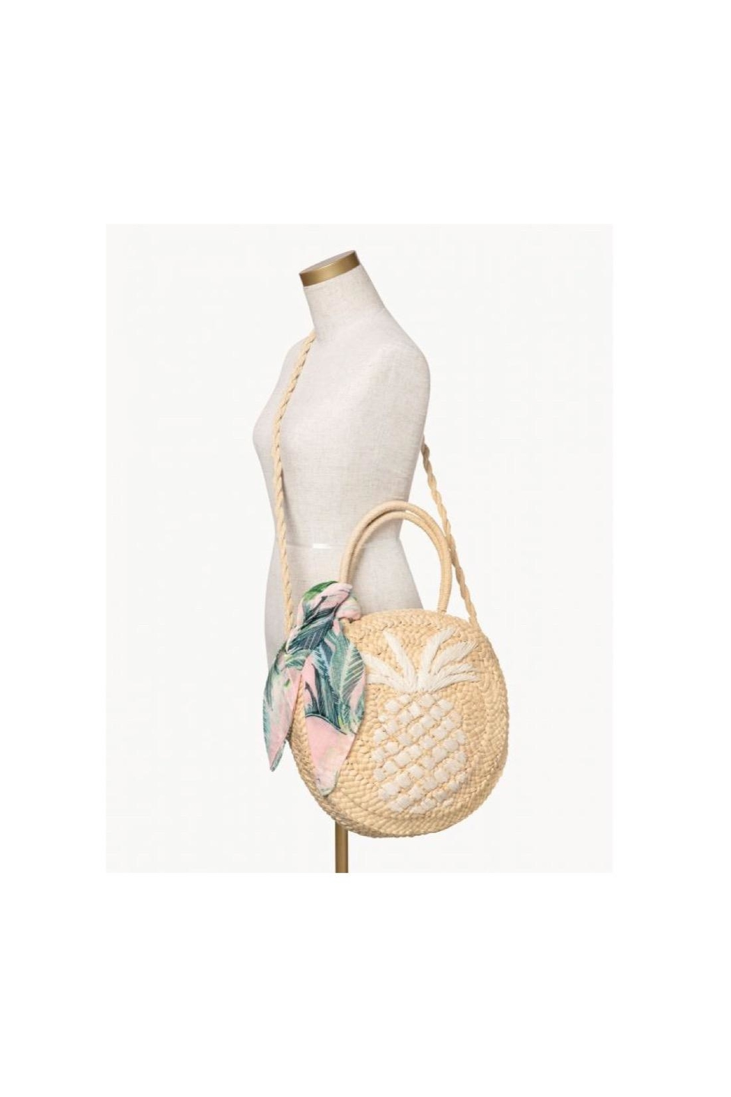 Spartina 449 Straw Beach Tote - Side Cropped Image