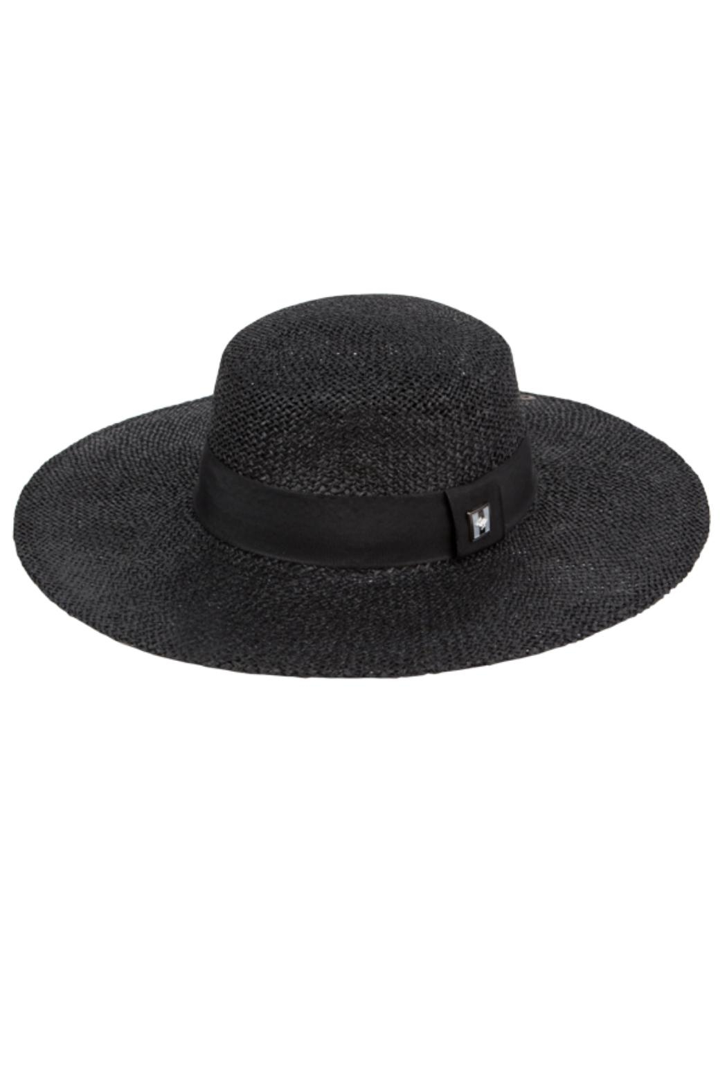 Peter Grimm Straw Boater Hat - Main Image
