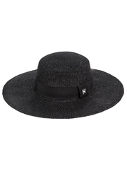 Peter Grimm Straw Boater Hat - Front cropped