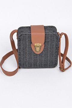 Shoptiques Product: Straw Box Bag