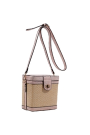 Isabelle Straw Box Crossbody - Product Mini Image