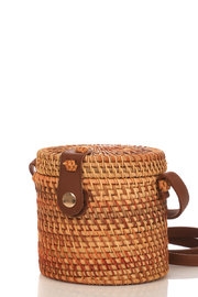 R+D  Straw Bucket Bag - Product Mini Image