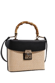 Isabelle Straw Crossbody - Front cropped