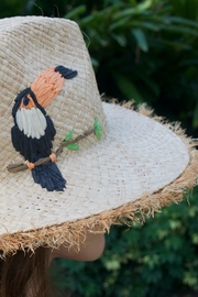 Echo Straw embroidered toucan hat - Product Mini Image