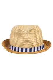 Mayoral Straw Fedora Hat - Side cropped