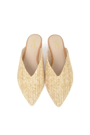 Seychelles Straw Flat Mules - Side cropped