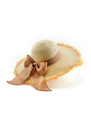 Giftcraft Inc.  Straw Hat w Bow - Product Mini Image