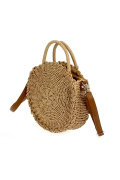 joseph d'arezzo Straw Shoulder Bag - Alternate List Image