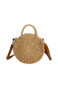 joseph d'arezzo Straw Shoulder Bag - Product List Image
