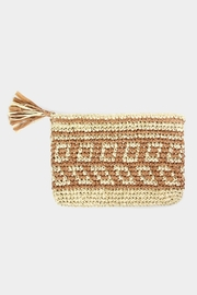 Embellish Straw Tassel Clutch - Product Mini Image