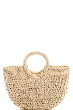 n/a Straw Woven Bag - Product List Image