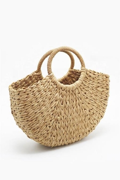 n/a Straw Woven Bag - Alternate List Image