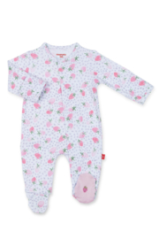 Magnetic Me Strawberries & Cream Footie - Front cropped