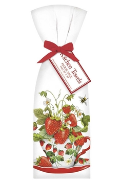 Mary Lake-Thompson Strawberry Kitchen Towels - Product List Image