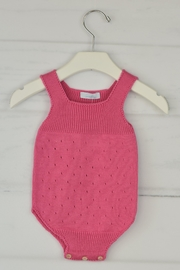 Granlei 1980 Strawberry Knitted Onesie - Front cropped