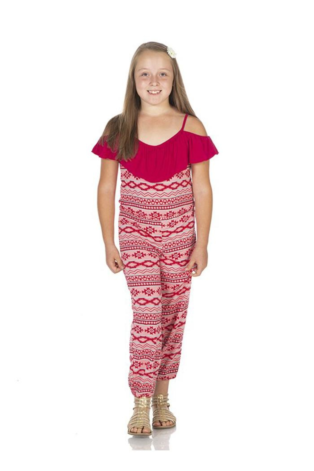 Kickee Pants Strawberry Mayan Jumper - Front Full Image