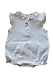 Kissy Kissy Strawberry Patch Sunsuit - Front cropped