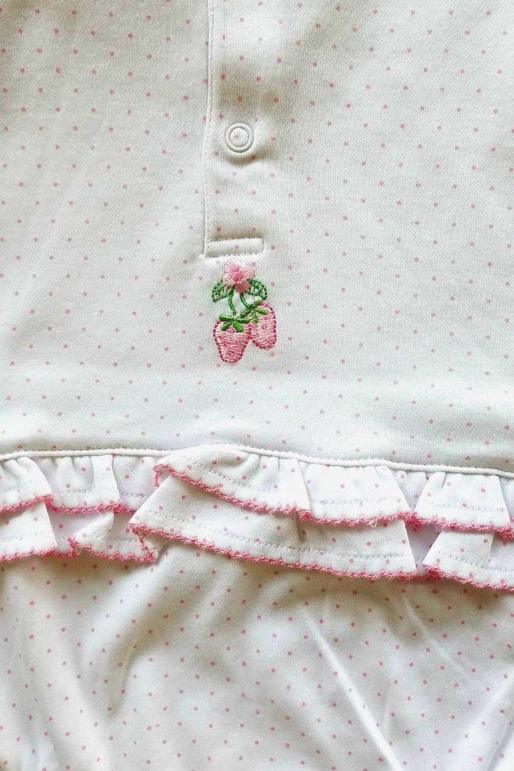 Kissy Kissy Strawberry Patch Sunsuit - Front Full Image