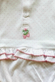 Kissy Kissy Strawberry Patch Sunsuit - Front full body