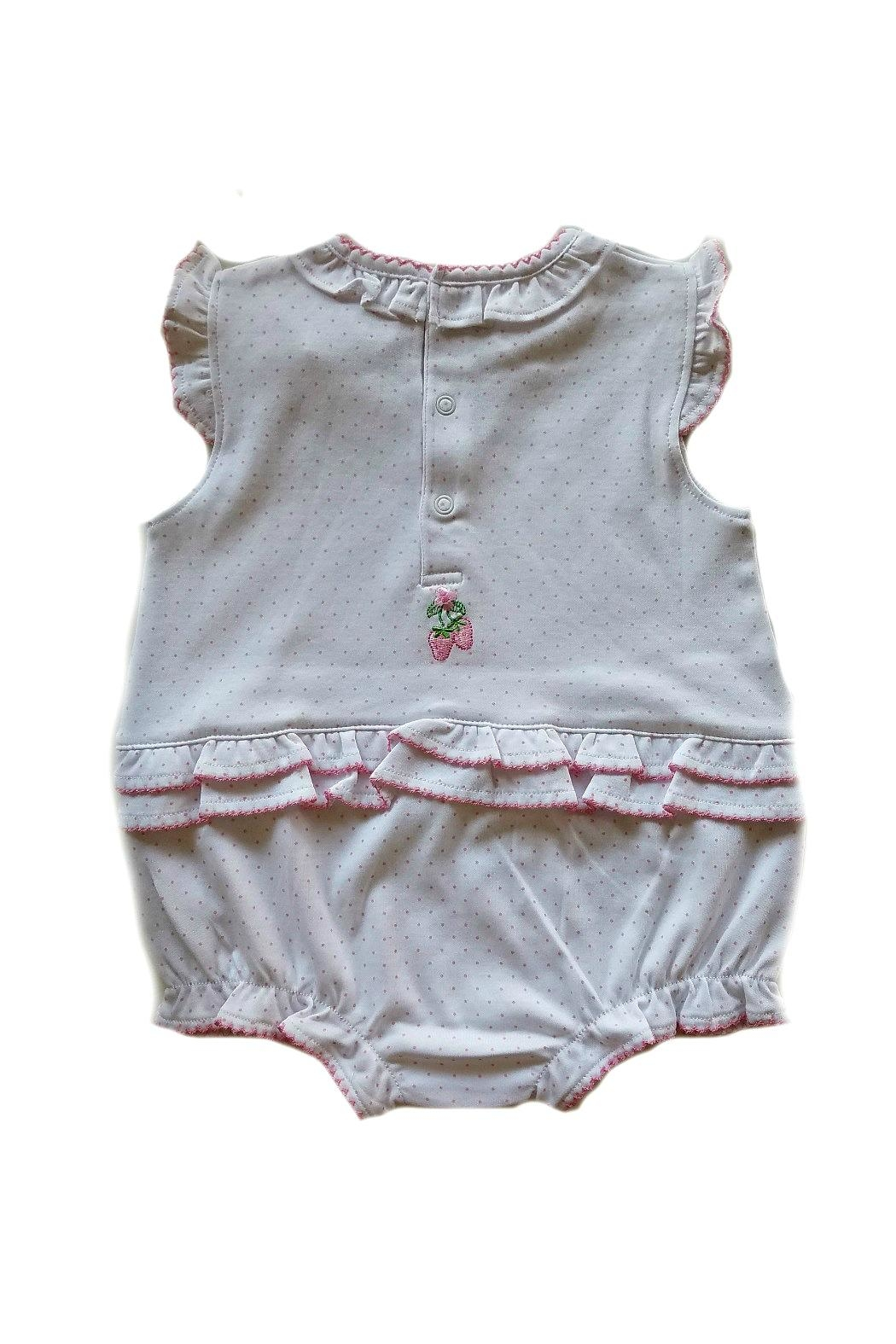 Kissy Kissy Strawberry Patch Sunsuit - Side Cropped Image