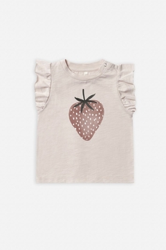 Rylee & Cru Strawberry Ruffled Tank - Product List Image