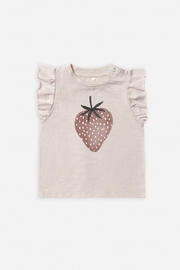 Rylee & Cru Strawberry Ruffled Tank - Front cropped