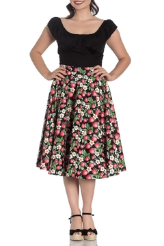 Hell Bunny Strawberry Sundae Skirt - Product List Image