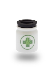 Streamline NYC Stash Jar - Front cropped