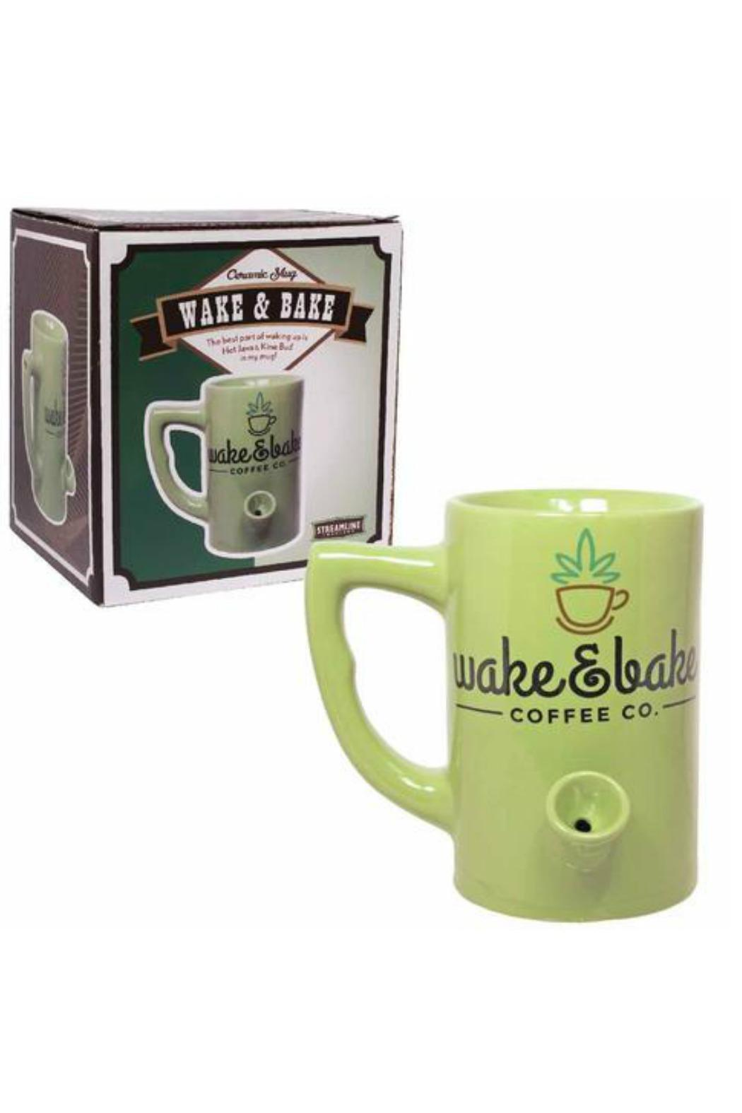 Streamline NYC Wake & Bake Mug - Front Cropped Image