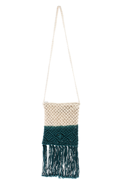 Shoptiques Product: Crochet Tassle Bag