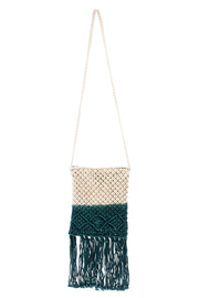 Street Level Crochet Tassle Bag - Product Mini Image