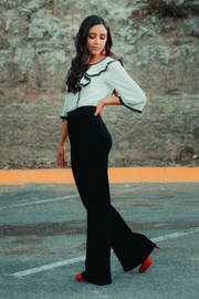 Street Glam High Rise Pants - Front cropped