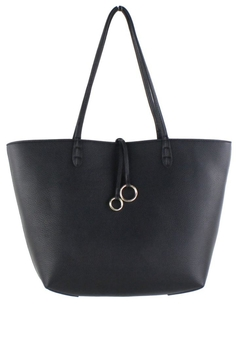 Street Level Black/tan Reversible Tote - Product List Image