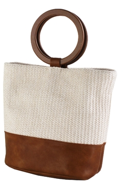Shoptiques Product: Circle Handle Bag